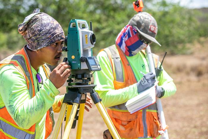 Land Surveying in Hawaii