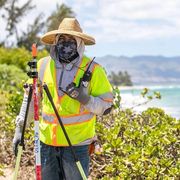 Surveyor in Hawaii